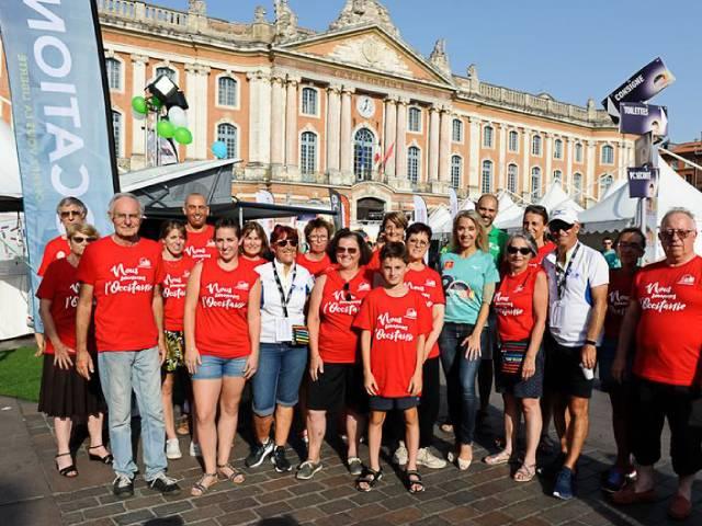 Bénévoles Corrida Pédestre de Toulouse